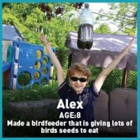 alex bird feeder missions
