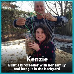 Kenzie bird feeder