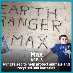 max recycling batteries