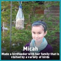 micah bird feeder