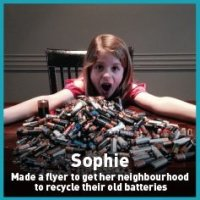 sophie battery recycling mission