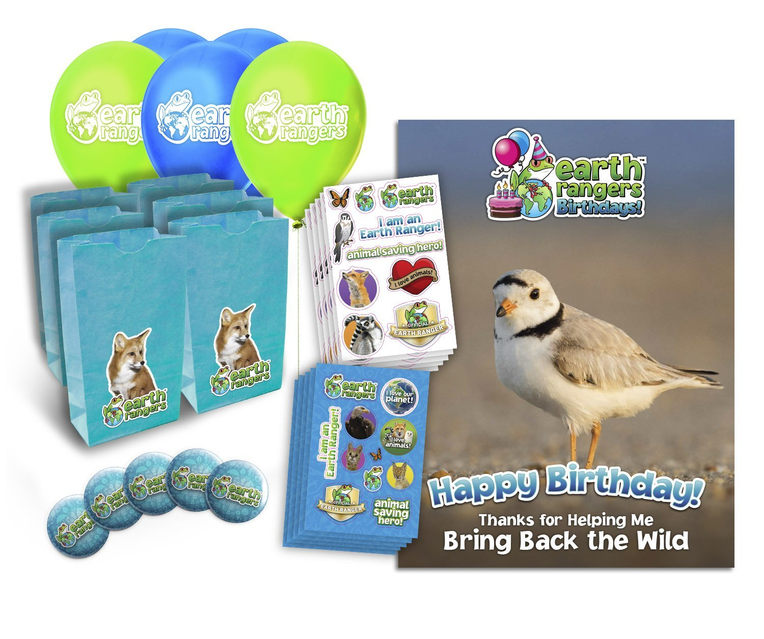 Birthday Kit Previews | Earth Rangers Wild Wire Blog