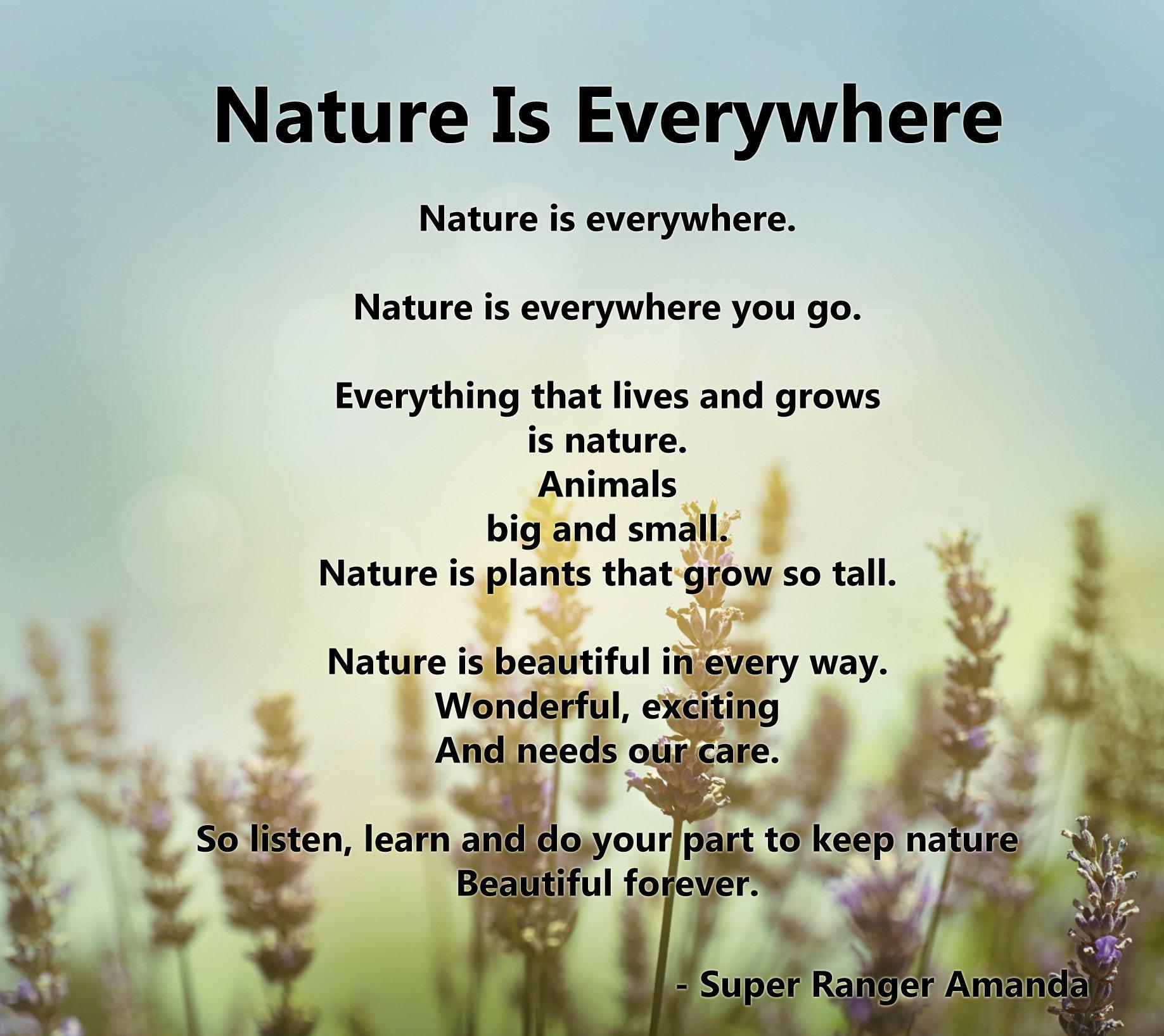 nature in poem