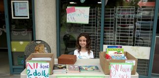 fundraising, book sale, super ranger, gemma